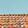 Old Roof Tiles - Foto Stock