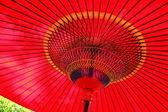 Rote japanische dach — Stockfoto