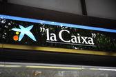 Central branch of La Caixa Bank in Palma — Stock Photo