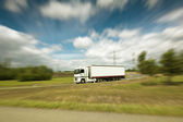 Semi truck — Stock Photo