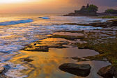 Tanah Lot temple in Bali, Indonesia — ストック写真