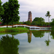 Ayutthaya heritage site — Stock Photo