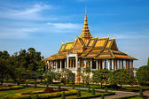Royal Palace in Phnom Pehn, Cambodia — Stock Photo