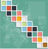 Abstracte achtergrond kubus ontwerp vector illustratie eps — Stockvector