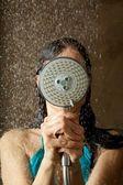 Bereit, sie dusche — Stockfoto