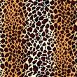 Vector. Seamless jaguar skin pattern — Stock Vector