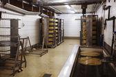 Cheese making machine — Stock Photo