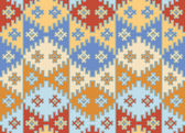 Vector. Seamless mosaic background. Indian style. — Stock Vector