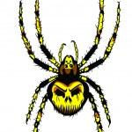 Vector. Spider — Stock Vector