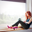 Young lonely woman — Stock Photo