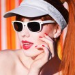 Funky summer portrait — Stock Photo #10956905