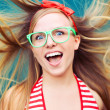Positive energy portrait — Stock Photo #10957320