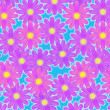 Flowery background - Foto Stock
