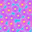 Flowery background - 图库照片