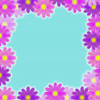 Flower frame — Stockfoto