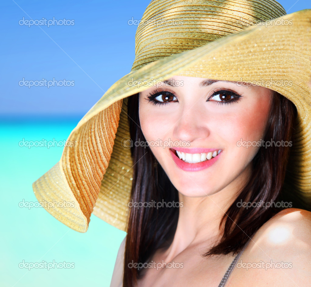 Cheerful girl outdoor  Stock Photo #11740694