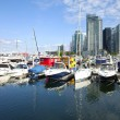 Vancouver BC marina. — Stock Photo