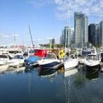 Vancouver BC marina. — Stock Photo #10908671