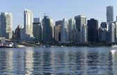 Vancouver BC skyline. — Stock Photo
