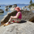 Visiting Lake Tahoe, California. — Stock Photo