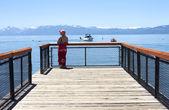 посещение озера тахо, калифорния. — Стоковое фото