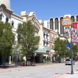 Stock Photo: Downtown street and casino, Reno NV.
