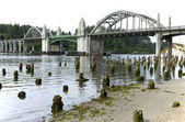 Bridge crossings, Florence OR. — Stock Photo