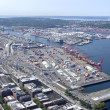 Stock fotografie: Port of Seattle Washington state.