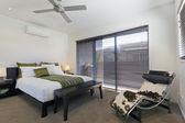 Double bedroom — Stock Photo