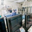 Cathlab in modern hospital - Stock Photo
