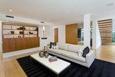 Moderne wohnzimmer — Stockfoto