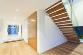 Staircase in modern house — Stock Photo