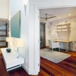 malý prostor ve stylovém domě — Stock fotografie