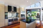 Modernt hus inredning — Stockfoto