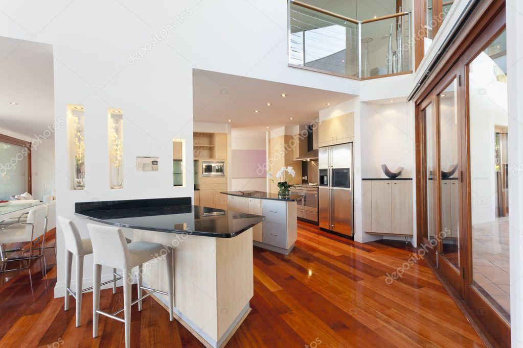 Modern Huis Interieur Stockfoto Epstock.