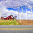 American Country Farm — Stockfoto
