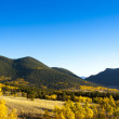 Autumn Landscape in Colorado — Stock Photo