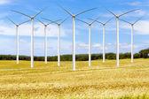 American Countryside Windfarm — Stock Photo