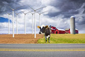 American Country Farm — Stock Photo