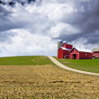 American Country with stormy sky — Stock Photo #10928101