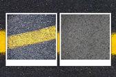 Asphalt Road Background or Texture — Stock Photo