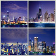 Chicago Postcard — Stock Photo