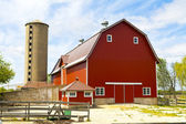 American Countryside Farm — Stock Photo