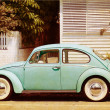 Old Car Poster - Stockfoto