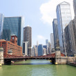 Bridge in Chicago — Stock Photo #11794230