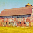 Vintage Farm - Stockfoto