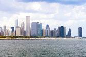 Skyline von chicago — Stockfoto