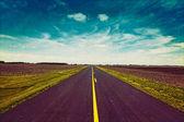 Vintage Design - Road — Stock Photo