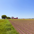 Countryside Landscape with Farm — Foto de Stock