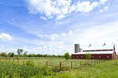Amerikanska gård — Stockfoto